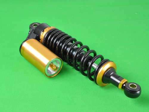 Wotefusi Motorcycle New One Piece Black Golden 12 5/8'' 320mm Round Ends Air Gas Shock Absorbers Replacement Universal Fit For Honda Suzuki Kawasaki Yamaha Ducati Scooter ATV Quad Dirt Sport Bike Go Kart by Wotefusi (Image #5)