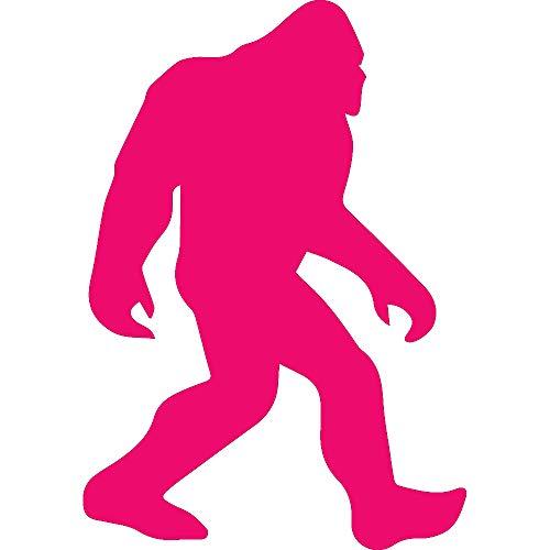 Animal BIGFOOTTt Sasquatch Animal Bigfoot Sasquatch (PINK) (set of 2) Premium Waterproof Vinyl Decal Stickers for Laptop Phone Accessory Helmet Car Window Bumper Mug Tuber Cup Door Wall Decoration ()