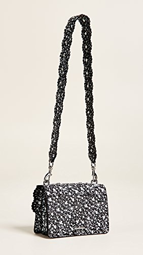 Floral Rebecca schwarz Christy Out Minkoff Schultertasche Cut 54rcUw7f5