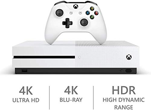 Microsoft Xbox One S 1TB Hard Drive Console (4K Ultra HD Blu-ray) with Wireless Controller and Game Bundle | Choose Battlefield V Bundle | Minecraft 1TB 4K BLU-RAY HDR by Xbox One (Image #1)
