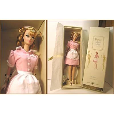 Barbie Fashion Model Collection (BMFC) - The Waitress Barbie Doll: Toys & Games