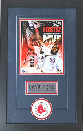 David Ortiz Boston Red Sox Signed Autographed 22