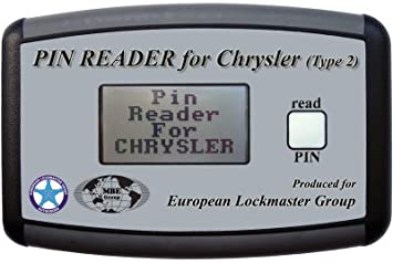 PIN Reader for Chrysler - Read out the pin code of the
