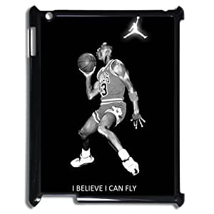 Michael Air Jordan I Believe I Can Fly iPad 2/3/4 Best Durable Case Cover