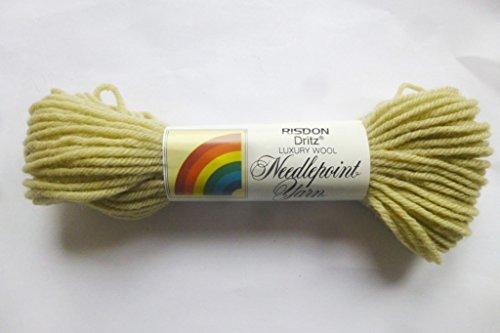 Dritz Lily Pad (Pale Avocado) 100% Virgin Wool Needlepoint Yarn