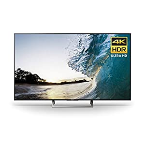 Sony XBR65X850E 65-Inch 4K Ultra HD Smart LED TV (2017 Model), Works with Alexa