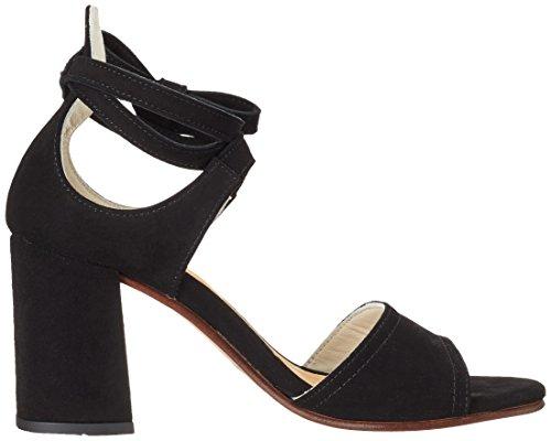 Marc O'Polo 70214021303302 High Heel Sandal - Sandalias Mujer Schwarz (Black)