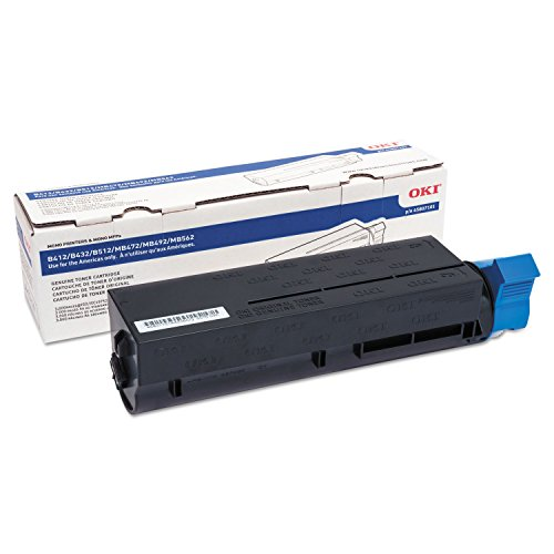 Okidata 3000 Page Yield Toner Cartridge for B4X2 B512 MB4X2 45807101