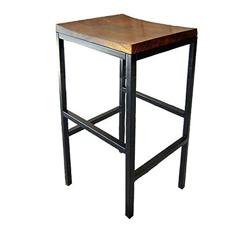 Super Amazon Com Carolina Cottage Aileen Barstool In Brown Creativecarmelina Interior Chair Design Creativecarmelinacom