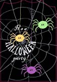Halloween Holiday Spider Frenzy Party Invitation Card Celebration Envelope 8 Ct