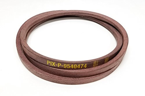 754-0474, 954-0474 Replacement belt made with Kevlar. For MTD, Cub Cadet, Troy Bilt, White, YardMan