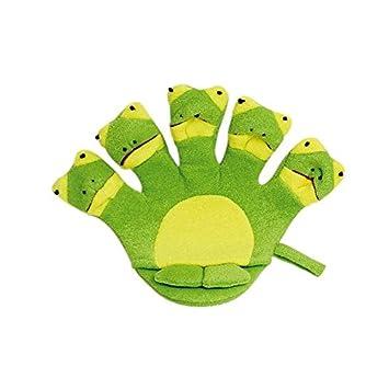 Titandioxid Badhandschuh Frosch - Packung mit 6