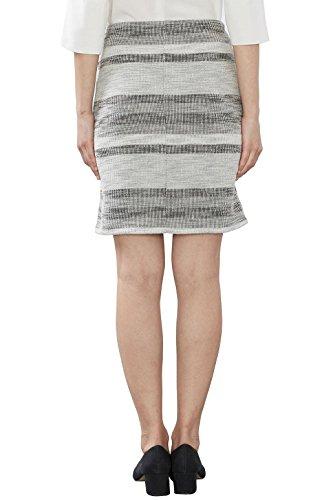 ESPRIT 027ee1d014, Falda para Mujer Multicolor (Light Grey)