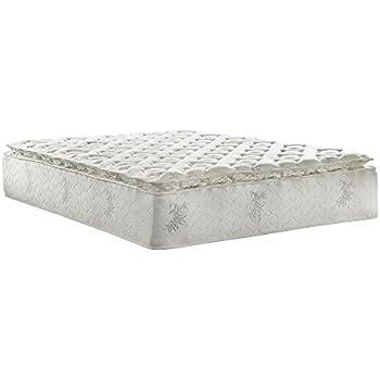Amazon Com Serta Roswell Super Pillow Top Mattress King