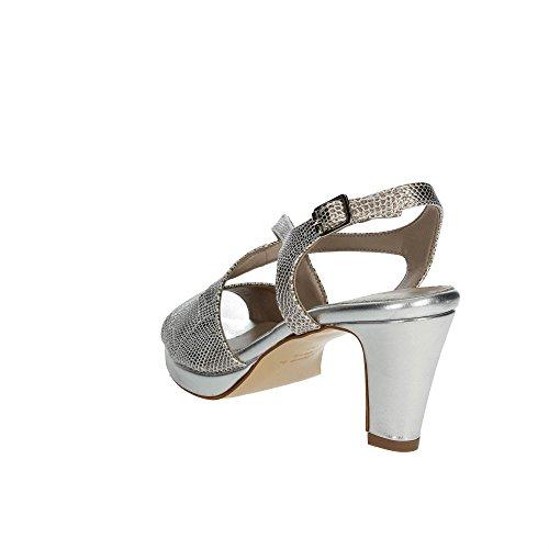 Cinzia Soft 141878 Sandalias Mujer Plata