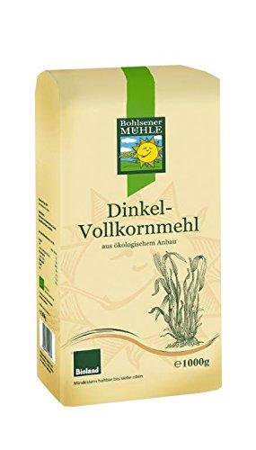 Bohlsener Mühle Harina Espelta Integral - 6 Paquetes de 1000 gr - Total: 6000 gr: Amazon.es: Alimentación y bebidas