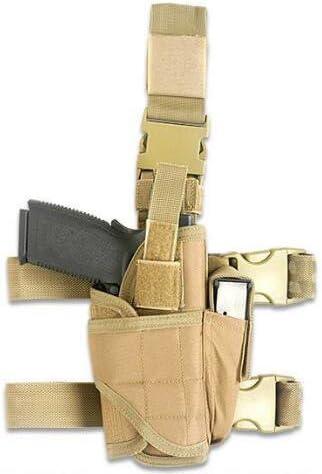 Funda táctica de pistola para pierna ajustable de Htuk®