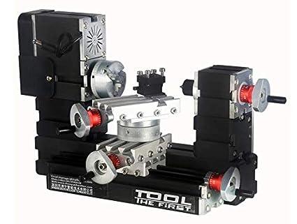 Macchina Per Lavorare Il Legno E I Metalli : W rpm ad alta potenza torni in metallo in miniatura
