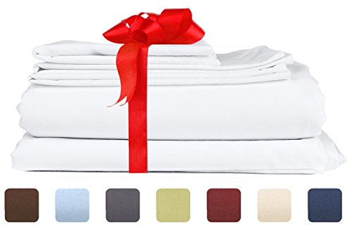 white satin bed sheets - 7