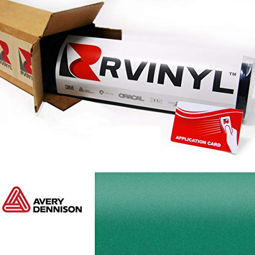 Avery SW900 771-O Gloss Emerald Green Supreme Wrapping Film Vinyl Vehicle Car Wrap Sheet Roll - (24