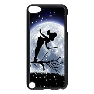 Ipod Touch 5 Phone Case Disney Silver Tone Tinkerbell Silhouett XGB002215178021