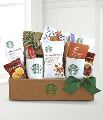 Tea for You Market Box - Same Day Gourmet Chocolate & Snack Basket Delivery - Gourmet Gift Baskets - Snack Gift Baskets - Gourmet Chocolate Gift Baskets - Chocolate Food Gift Baskets
