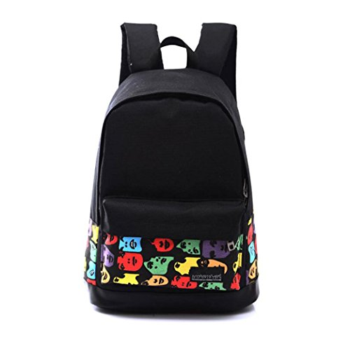 Canvas B Transer Rucksack Boys Unisex Shoulder Girls Backpack Bag 6UxFT5wq
