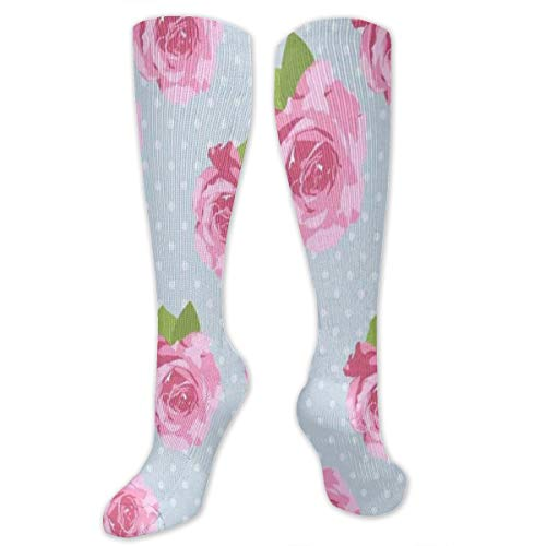 Compression Socks Shabby Chic Floral Womens Winter Sock Accessory Tight Stocking For Girls Men Boys Teen
