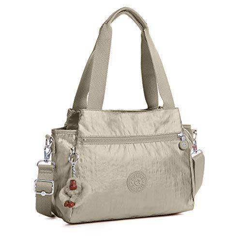 Solid Crossbody Pewter Convertible Kipling Elysia Bag Metallic SnA8P8