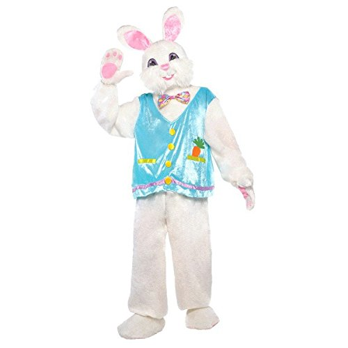 Amscan Easter Bunny Halloween Costume for Adults, Standard, Includes Multiple Accessories -