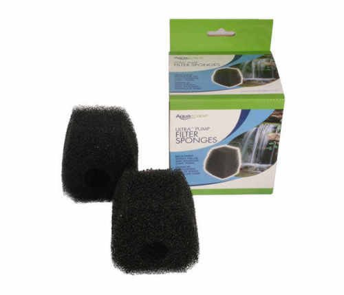 Replacement Aquascape - Aquascape 91036 Replacement Filter Sponge Kit (2) for Ultra 1100 GPH Water Pump