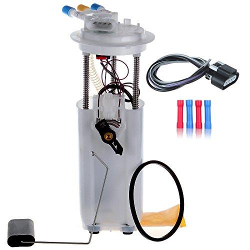 ECCPP Electric Fuel Pump Module Assembly w/Sending Unit Replacement for Chevrolet Camaro Pontiac Firebird 1999 2000 2001 2002 V6 3.8L E3369M