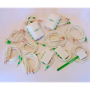 Earth and Grow Pro Gro Kit - Connects 24 Plants - Includes 12 6 ft. Connector 12 12 ft. Connector 2 8 Port Controller 2 Multi Ports 1 Outlet Tester 1 Plant Tester - Earth and Grow EG5000