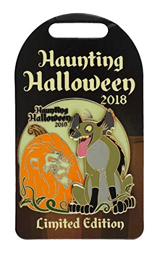 WDW Trading Pin - Haunting Halloween 2018 Scar