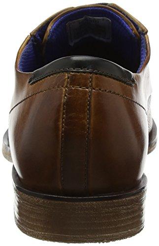 Bugatti Herren 311251041100 Derbys Braun (Cognac)