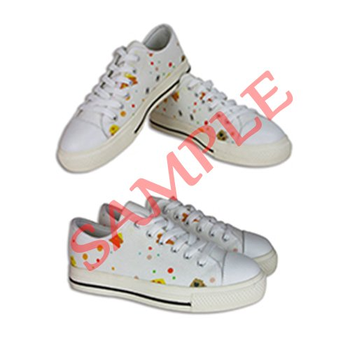 Dalliy Cute Color Sheep Womens Canvas shoes Schuhe Lace-up High-top Footwear Sneakers E