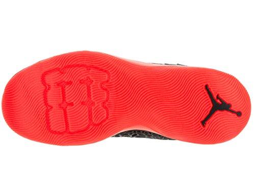Jordan Herren Ultra.Fly Basketballschuhe Schwarz / Reflektierend Silber-Infrarot 23