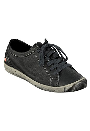 557 Para brick Washed Isla Leather Marrn Zapatillas Mujer Softinos qB48IwZx