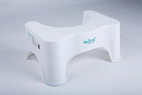 Natural throne sgabello per bagno previne e cura emorroidi e