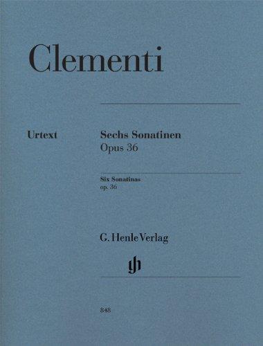 Sechs Sonatinen op. 36