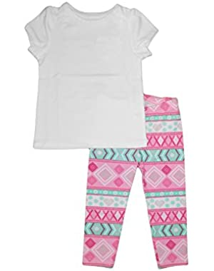 Classic Tee With Youngland Leggings (3T)