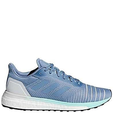 adidas Solar Drive Shoe Women's Running 6.5 Raw Grey-Clear Mint