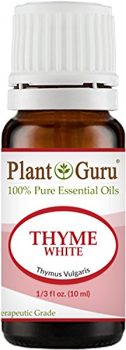 Thyme (White) Essential Oil 10 ml. 100% Pure Undiluted Therapeutic Grade.