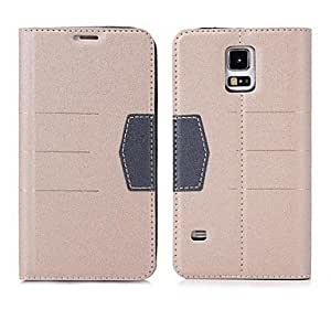 QYF Gold Sand Texture Protective Case for Samsung Galaxy S5 i9600 , Dark Gray