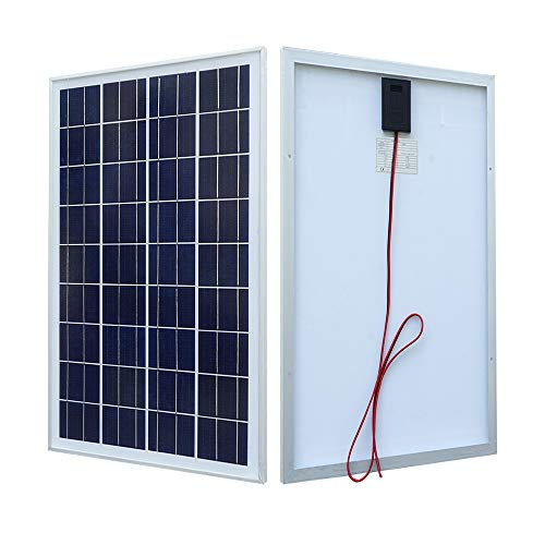 ECO-WORTHY 12V Solar Panel 25W Watt Module Off Grid Charging RV Boat