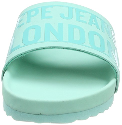 light Pepe Green Block Royal Jeans Donna Bio L Water Ciabatte Verde 48aw8qH