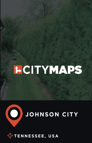 City Maps Johnson City Tennessee, USA