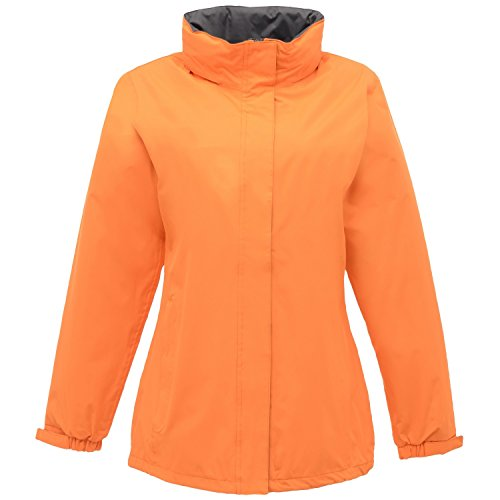 Regatta Womens/Ladies Ardmore Waterproof Mesh Lined Shell Jacket Sun Orange