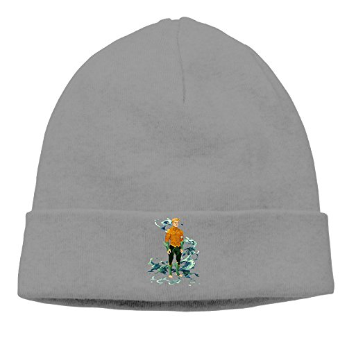 DETED Men&Women Aquaman Poster Skull Beanie Cap Hat Fall/Winter 2016