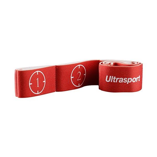 Ultrasport Nastro elastico, fitness per casa e palestra, adatto per pilates, ginnastica e stretching, lavabile in… 1 spesavip